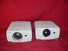 Christie LX45 LCD Projector AKA SANYO PLC-XP55 Lot of 2 ~ 4500 LUMENS! #3
