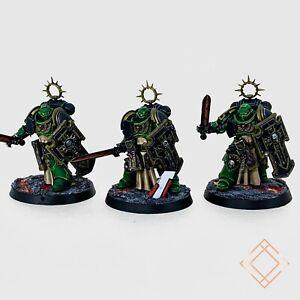Warhammer 40k Salamanders - Painted Primaris Bladeguard Veterans - BoxedUp