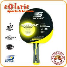 SUNFLEX SAMURAI-Concave Training Table Tennis Bat with Comfort Handle 10321