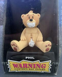 PHIL BAD TASTE BEAR. NEW IN BOX