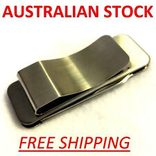 MONEY CLIP CARD HOLDER MULTI TOOL POCKET KNIFE WALLET SMALL STAINLESS STEEL