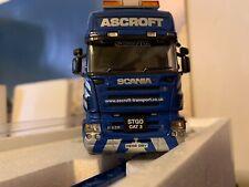 1:50 WSI 9897 camion SCANIA Topline EURO 4 axle + interdolly Ashcroft - Pcm