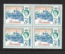 BERMUDA, QE11, 1966 DEFINS, 8d SG 196, MNH,  BLOCK 4,