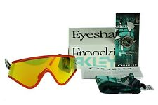 RARE New OAKLEY Heritage Collection EYESHADE Fire Iridium Sunglasses OO 9259-05
