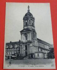 CPA CARTE POSTALE 1910-1920 RENNES  EGLISE SAINTE MELAINE BRETAGNE BREIZH 35