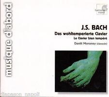 Bach: Il Clavicembalo Ben Temperato (Das Wohltemperierte Clavier) / Moroney - CD