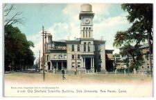 1905 Old Sheffield Scientific Building, Yale University, New Haven, CT Postcard