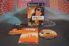 Singstar Pop 2009 (Playstation 2 PS2 2009) Completo en caja