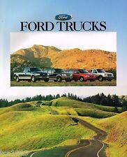 1997 Ford TRUCK's Brochure : F Series,150,Ranger,Explorer,Bronco,Van,Windstar,