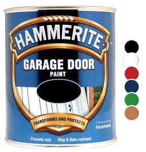 Hammerite - Garage Door Metal Paint - 750ML - All Colours