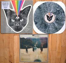 Never Shout Never - Black Cat Vinyl LP Smoke Swirl New