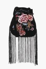Embroidered Floral Crossbody