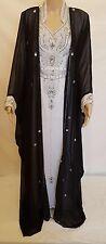 SALE- Moroccan/Dubai Style kaftan/Jalabiya maxi dress with Gown -Fits for all