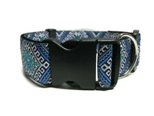 """1 1/2"""" Inch Wide Choose Buckle or Martingale Style Dog Collar for Large Dogs"""