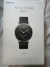 New Nokia Activity & Sleep Stainless Steel 36mm Watch Brand New, Sealed