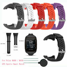 Silicone Correa Pulsera Reloj Muñeca Para Polar M400 M430 GPS Sports Smart Watch