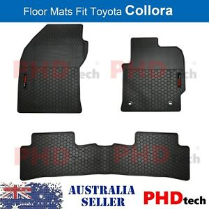 Prime Quality All Weather Rubber Floor Mats Fit Toyota Corolla 2018-2021 Hatch