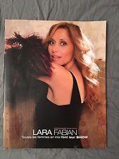 TOUR PROGRAMME LARA FABIAN - TOUTES LES FEMMES EN MOI FONT LEUR SHOW [TOUR BOOK]