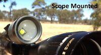 SNIPER - HUNTING GUN LIGHT SPOTLIGHT CREE LED TORCH SPOT LIGHT SCOPE MOUNTED