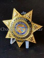 Autocollant Floride Doc Department of corrections badge