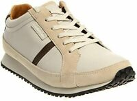 LACOSTE MORTAIN SRM OFF LEATHER/SUEDE WHITE MEN'S SNEAKERS SZ 9.5