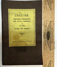 Betriebsanleitung Jaguar Mk VII 3.5 lt, english, original
