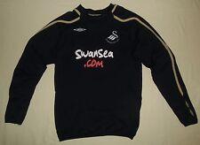 Swansea City / 2008-2009 Training - UMBRO - JUNIOR Track Top / Jumper. LB, 152cm