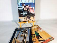 TRANSWORLD SKATEBOARDING / Thrasher/ VINTAGE OLD SCHOOL SKATE MAG All 3
