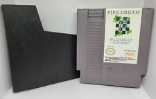 Pipe Dream - Nintendo NES - With Dust Cover Sleeve - Cleaned & Tested