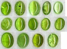 Natural Peridot Gemstone Loose Oval Round Cabochon Many Sizes Top Pakistan Color