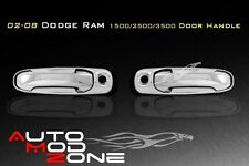 02-08 Dodge RAM 1500 2500 Chrome 2 Door Handle Cover w/ PSG Keyhole