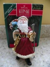 Hallmark 1991 Merry Olde Santa Claus Series Christmas Ornament