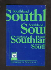 Southland Conference--1998 Football Pocket Schedule--Artcarved