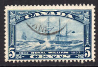 Canada 5 Cent Stamp 1933 Used  (6375)