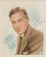 Forrest Tucker Autographed/Signed Vintage 8x10 Photo W/Global COA-Actor-Old Pic