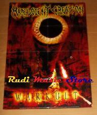 POSTER PROMO MALEVOLENT CREATION WARKULT 84 X 59,5 cm NOcd dvd vhs lp live mc
