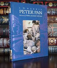 Peter Pan J.M. Barrie llustrated by T. Hyman Brand New Deluxe Hardcover Gift  Ed