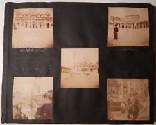 Middle East photo album circa 1900 - approx 200 pix of Jerusalem, Rome & Turkey