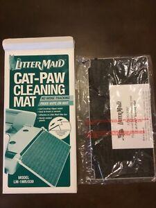Littermaid Cat Box Cleaning Mat & Ramp (Self-Cleaning Litter Box) NEW 175280-00