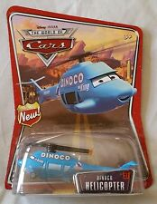 Disney Pixar Cars DINOCO HELICOPTER Series 3 (World of Cars) 1:55 Diecast