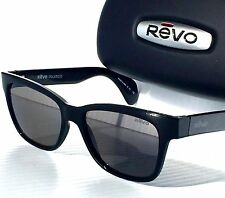0cdfea48bc REVO Re 5012 Trystan Polarized Wayfarer Sunglasses Shiny Black Graphite
