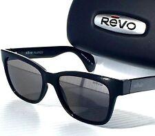 NEW* Revo TRYSTAN Black POLARIZED Graphite Grey lens Sunglass RE 5012 01 GY