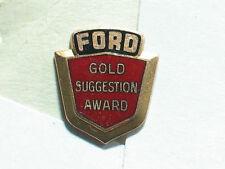 Vintage Ford Employee award pin 10K Gold