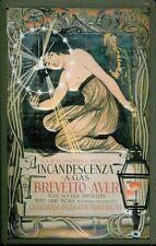Brevetto - Aver Blechschild Schild 3D geprägt gewölbt Metal Tin Sign 20 x 30 cm
