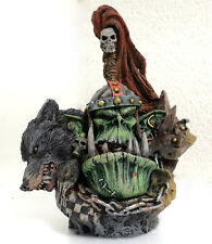 """WARHAMMER  FORGE WORLD OOP BUST """"ORCS WAR BOSS""""  PRO PAINTED LIMITED EDITION"""