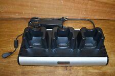 Global Technology Systems Hch 3030 Three Bay Motorola Mc3000 Cradle Charger