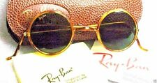 "Ray-Ban USA *NOS Vintage *B&L ""Cheyenne II"" W1748 Honey Tortoise *NEW Sunglasses"