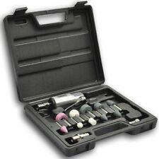 """vidaXL 1/4"""" Air Die Grinder And Stone Kit Set 16 Piece Grinding Polishing Tool"""