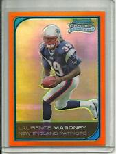Laurence Maroney 2006 Bowman Chrome Orange Refractor Rookie #19/25
