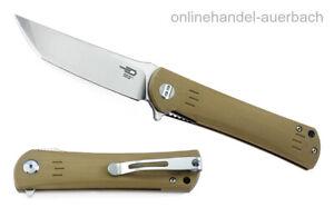 BESTECH KNIVES Kendo Beige BG06C-1 Taschenmesser Klappmesser Messer